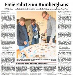 Voigtsberger besuch Humberghaus
