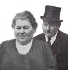 Helene en Abraham Frank