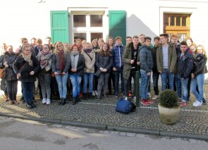 Schülerbesuch im Humberghaus