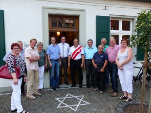 Bürgermeisterkandidat Bernd Romanski besucht das Humberghaus